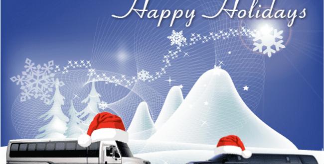 Christmas Limo in Chicago, Christmas Limousine, Xmas Limousines, Christmas Car Service