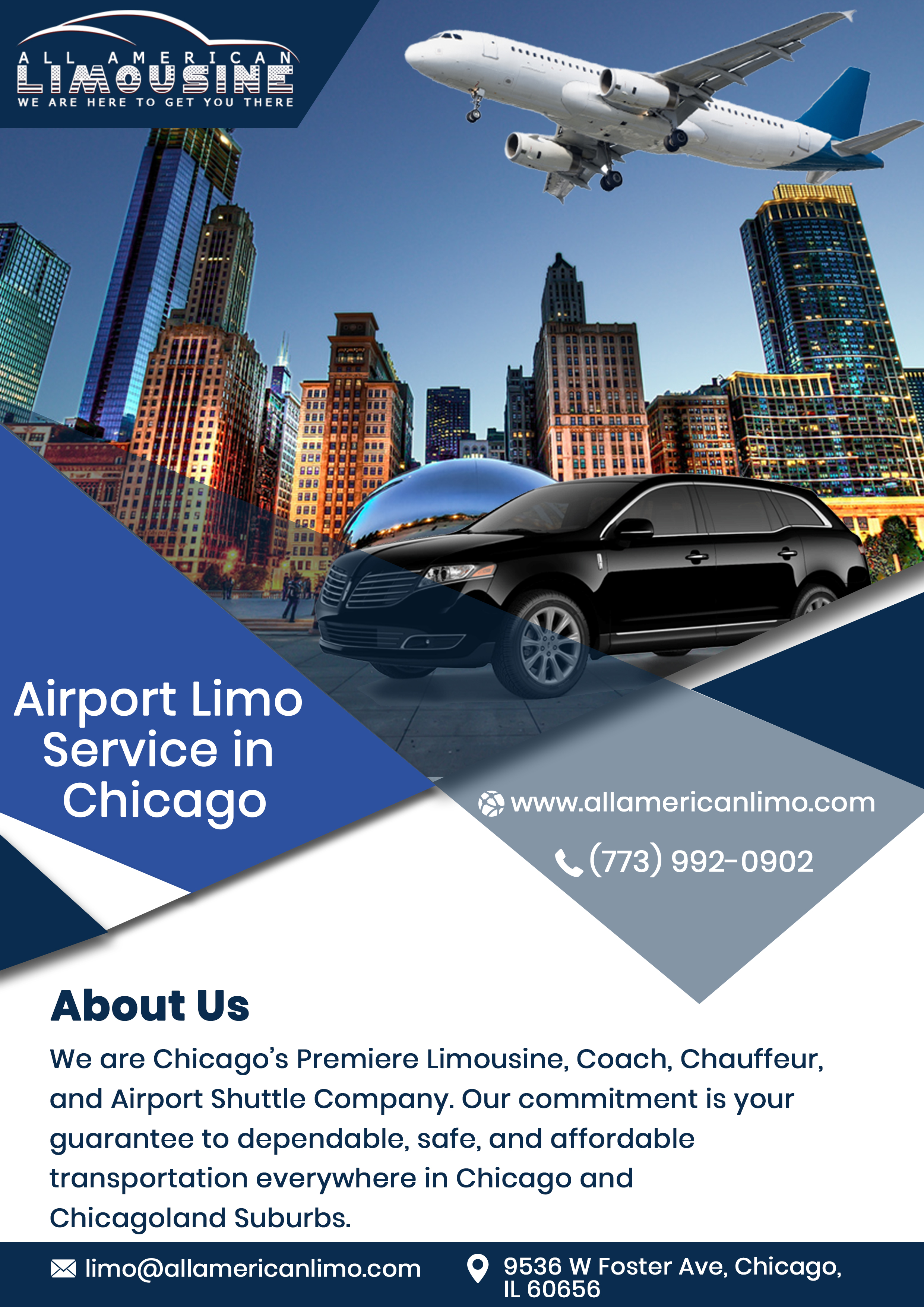 Airport Limo Service Chicago, Chicago Limo