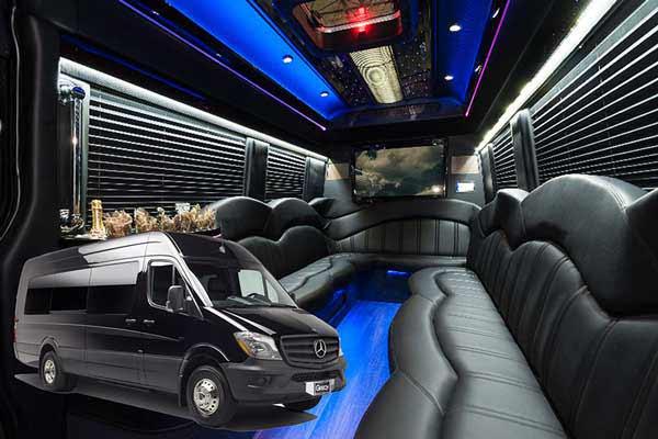 Chicago Wedding Limousine, Party Bus Chicago, Sprinter Limo Chicago Wedding