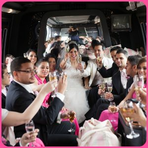 Bachelor Party, Bachelorette Party, Limo, Limousine, Stretch Limo, Wedding
