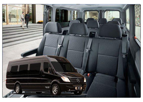 corporate car executive sprinter limo