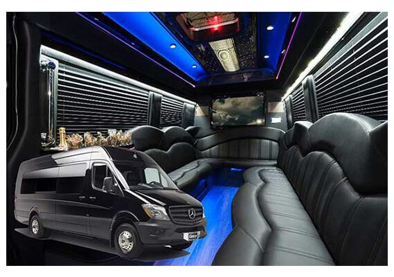 party bus sprinter limo