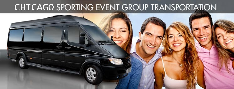 Chicago Sporting Event Transportation, Party Bus Chicago, Limo Bus Chicago, Shuttle Bus IL, Party Bus IL, Book, Hire, Rent