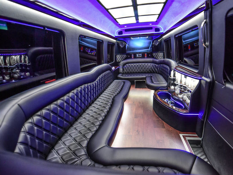 Party Bus O Hare Limo Bus Il Charter Party Buses