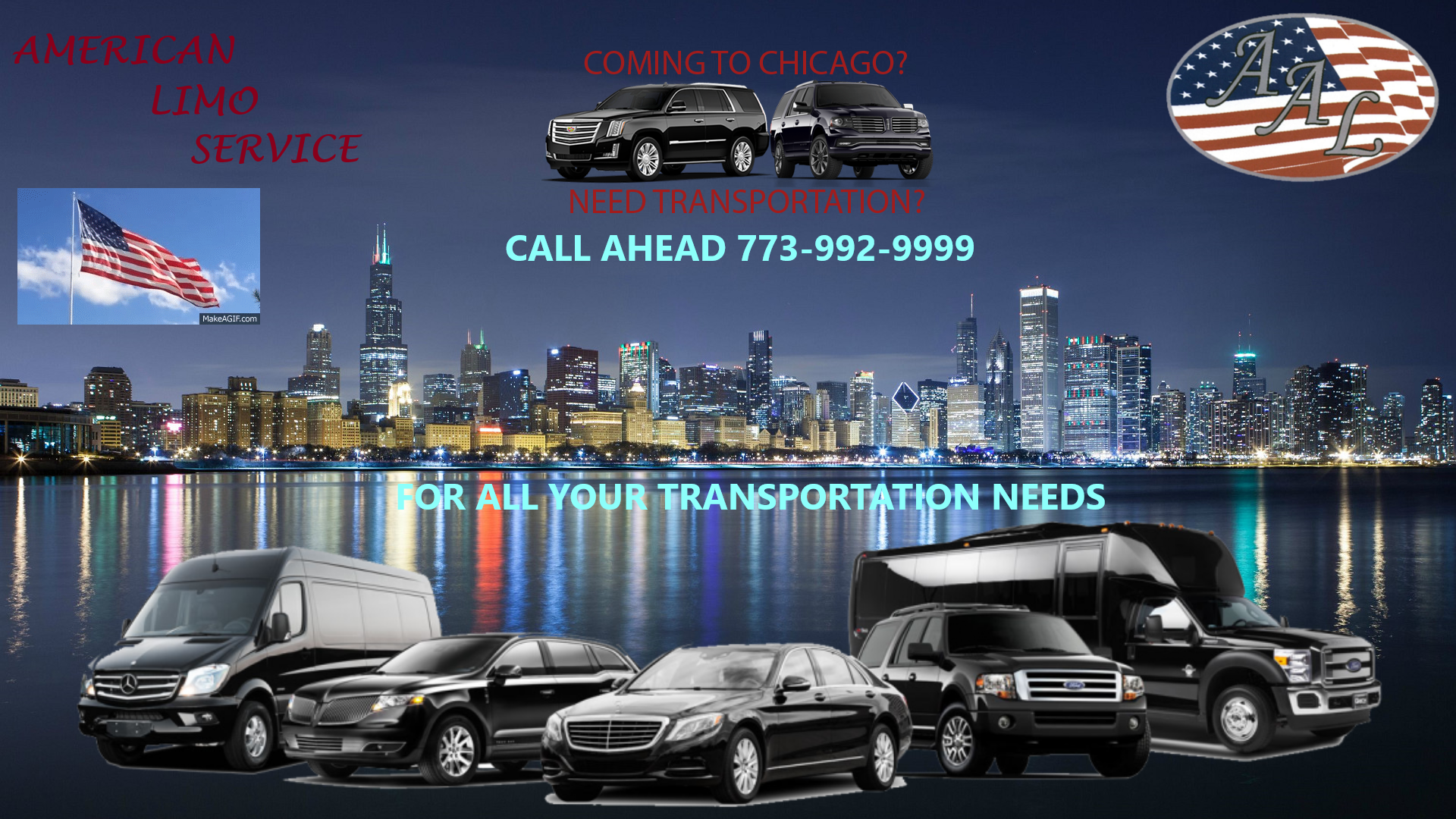 American Limo Service, Town Car Service Chicago, Round Trip Limo Service Chicago, Book, Hire, Rent