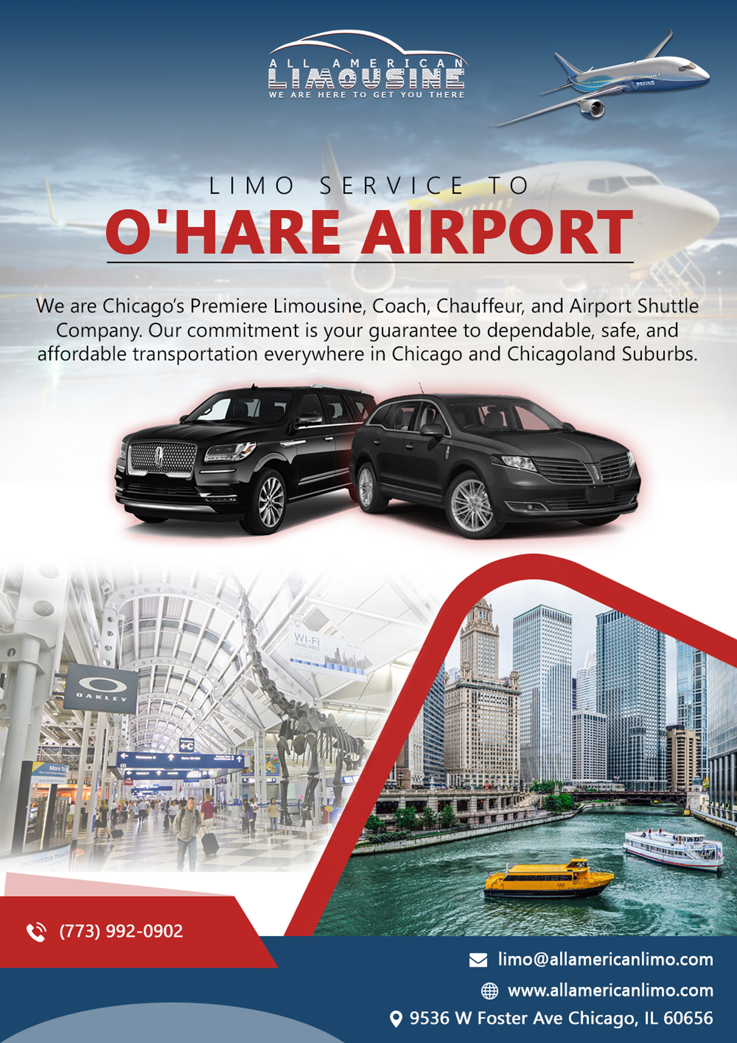 Limo Service To O Hare Airport Chicago Airport