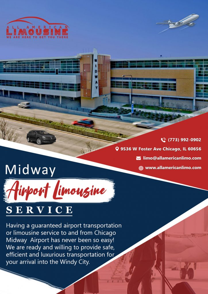 Limo Service to Midway Airport, Transportation to Midway Airport, Car Service to Midway Airport, Chicago Airport Bus Trips, Atlantic Aviation MDW, Limo Transportation, Bus Transportation, Transportation to Airport. Sedan, SUV, Van, Shuttle Bus, Party Bus, Stretch Limo, Limousine. 773-992-0902