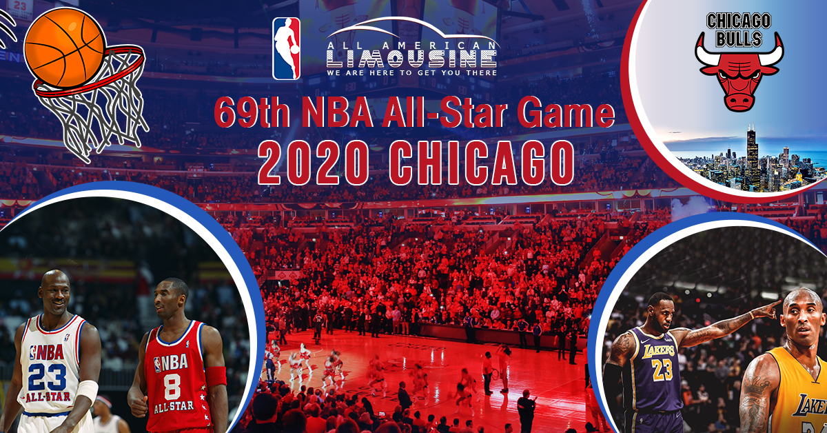 Limo Service To NBA All Star Weekend In Chicago, Kobe Bryant, Michael Jordan, Gianna Bryant