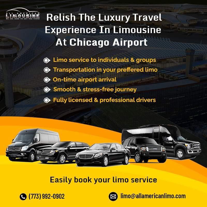 Book Limo Service, Book Car Service, Corporate Sedan Chicago, All American Chicago Limousine