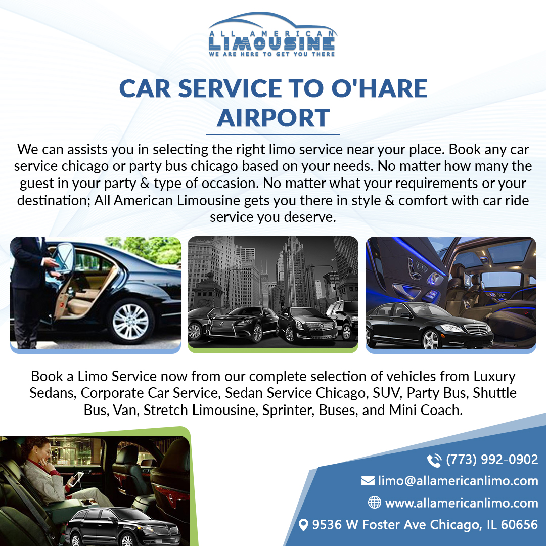 Car Service Chicago, Car Service to O'Hare Airport
