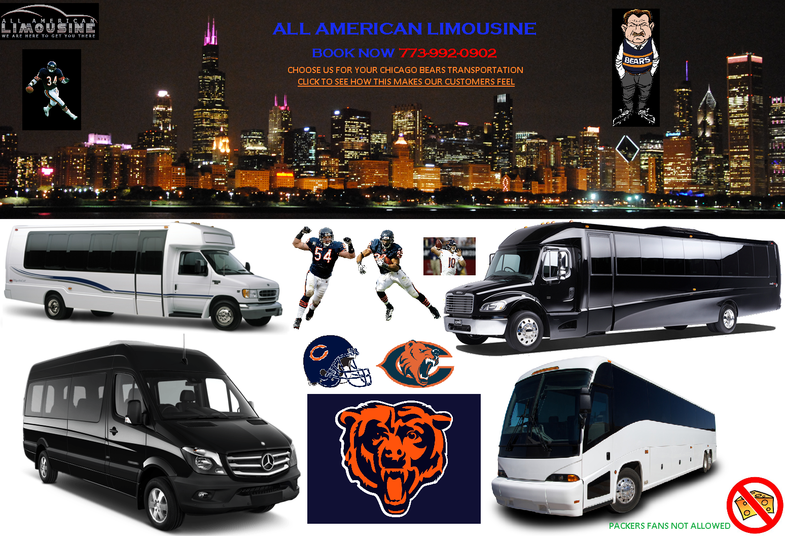 Chicago Airport Limousine Service, Charter Bus Chicago, Charter a Bus Chicago, Charter Bus Rental Chicago, Charter a Bus to Chicago, Charter Bus to O'Hare, Charter Bus to Midway Book, Hire, Rent, Reserve White Coach Bus