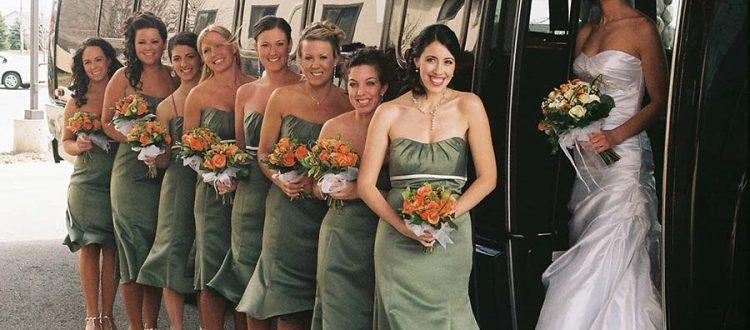 wedding limo