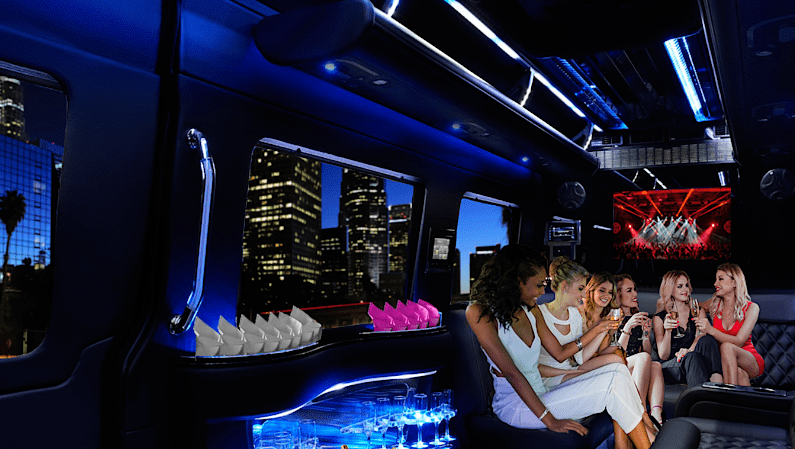 Nightlife Limo Service, Nightlife Charter Chicago, Limo Nightlife Charter