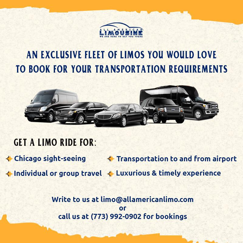 Limo Ride to Chicago Airport, Airline Crew Transportation Chicago, Limousine Airline Crew Shuttle Service, Airline Crew Transfers to O'Hare, Midway, FBOs, PWK, MKE, SBN