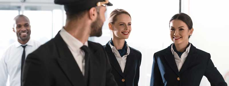 Airline Crew Transportation Chicago, Limousine Airline Crew Shuttle Service, Airline Crew Transfers to O'Hare, Midway, FBOs, PWK, MKE, SBN