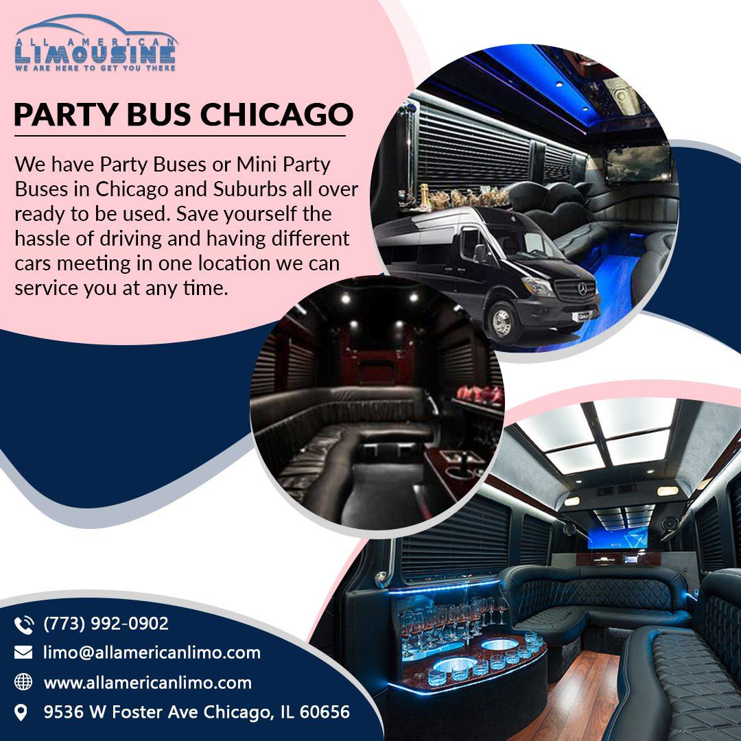 Bachelorette Party Bus Chicago