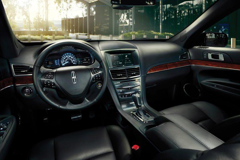 2019 Lincoln MKT Black Sedan Interior